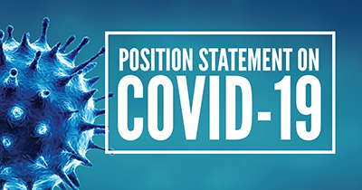 Position Statement on COVID-19